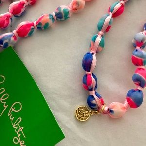 Lilly Pulitzer Necklace Fabric